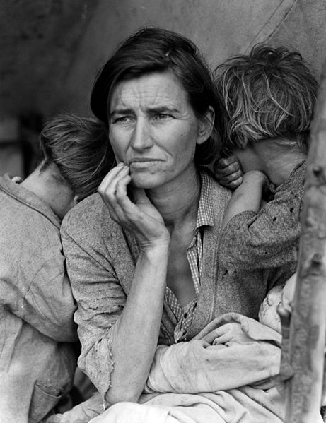 Dorothea Lange. Madre