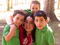 MARTA PARRA, madre de tres hijos, arquitecta y activista de los buenos partos.