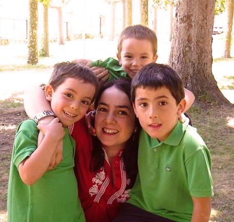 madre de tres hijos, arquitecta y activista de los buenos partos.