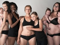 Fotos de la verdadera huella que dejan 9 meses de embarazo