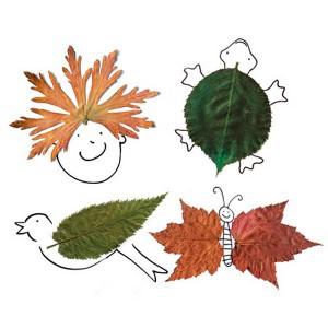 dibujo-con-hojas