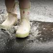 Días de lluvia en familia