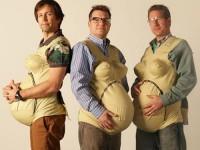 Tres hombres embarazados